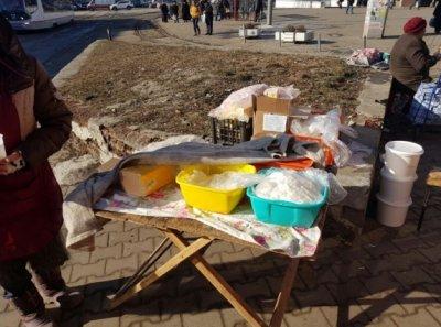 В центре Ростова снова уничтожили продукты уличных торговцев