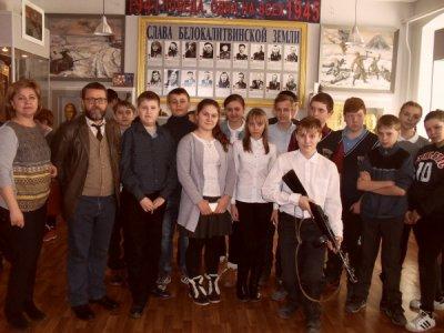 Учащиеся школы №1побывали в Белокалитвинском историко-краеведческом музее