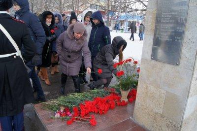 В Белой Калитве состоялся памятный митинг, посвященный 28-летию вывода советских войск из Афганистана