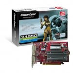 ����������� PowerColor X1550 � ���������� PCI-E � AGP